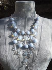Lavendel blauwe ketting