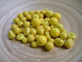 Gele kralenmix