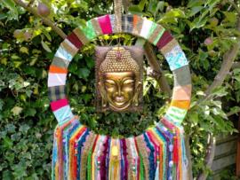 Buddha dromenvanger/dreamcatcher. Maat XXL VERKOCHT