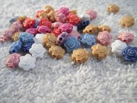 30 kleine bloemetjes kraaltjes