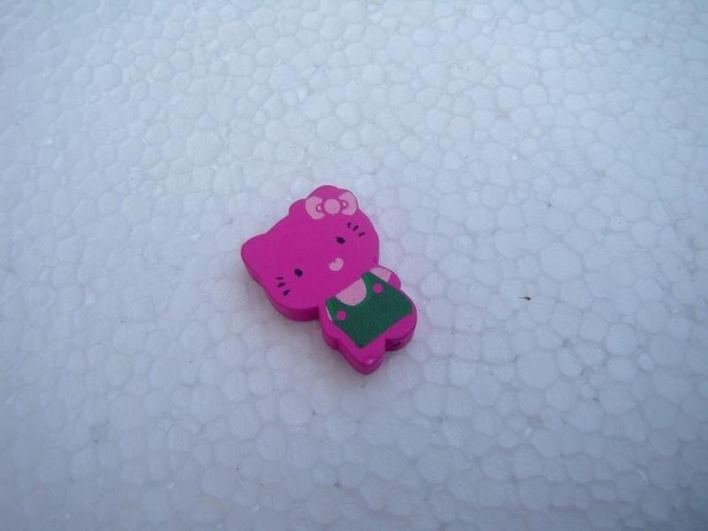 Houten Hello Kitty - fuchsia