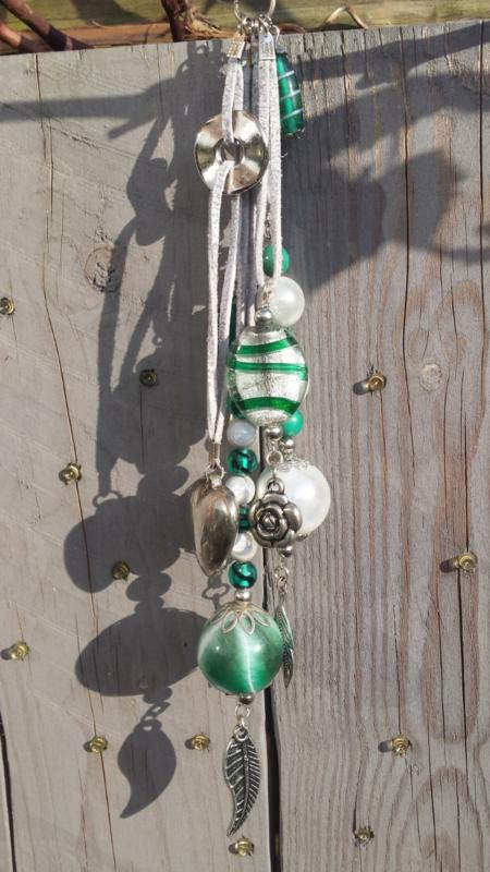 Groene decoratiehanger