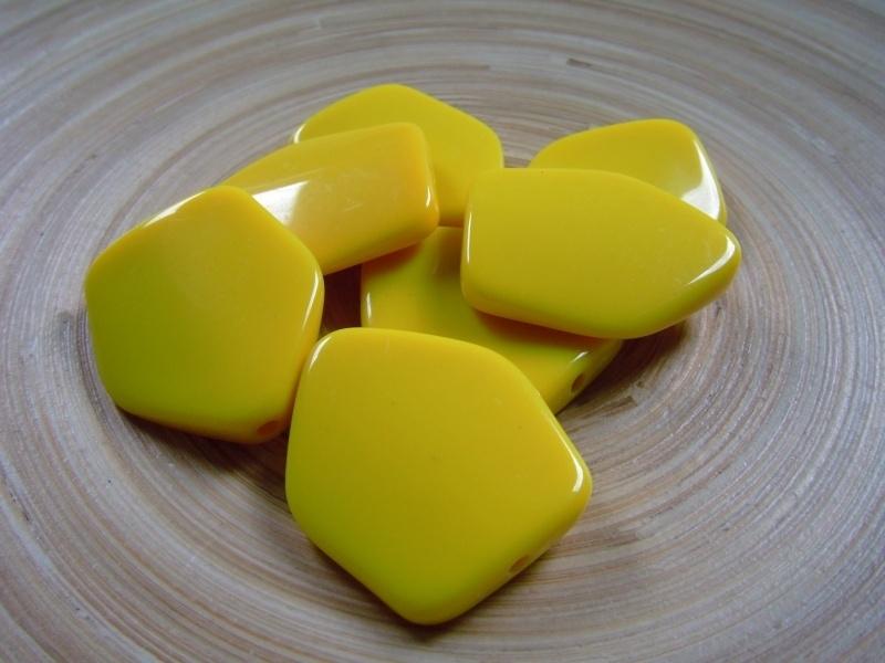 Oranje/gele kraal