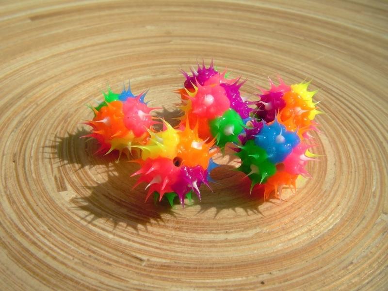 10 Jelly/siliconen kralen