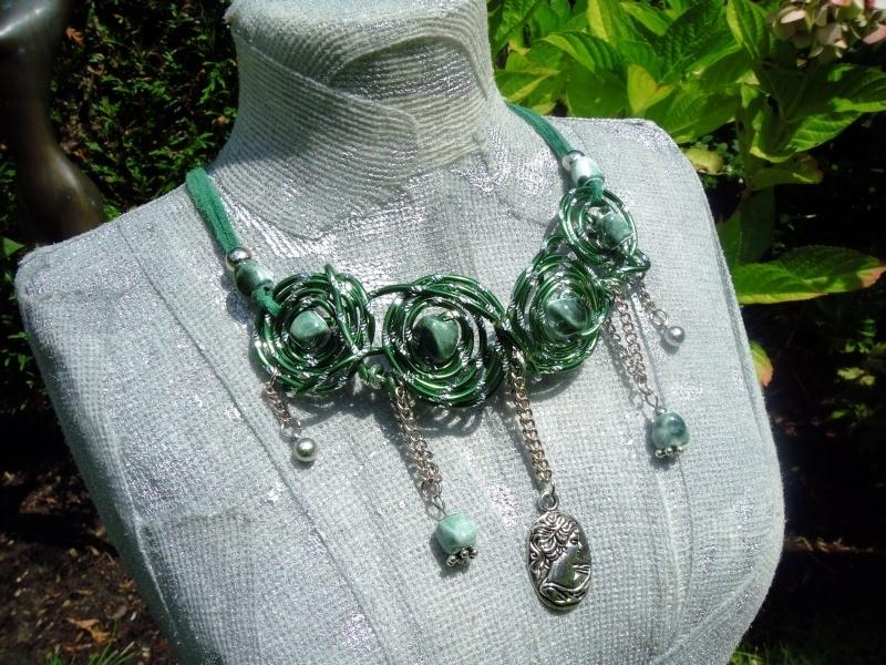 Groene ketting van Alu-wire