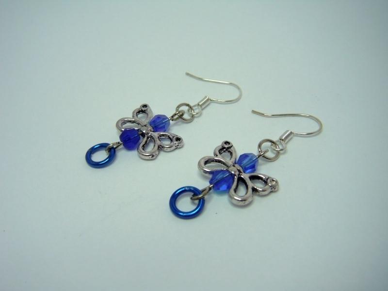 Kinder-oorbellen blauw