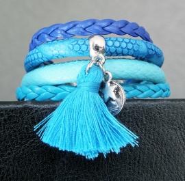 """Ibiza Armband """"Blue Monday"""""""