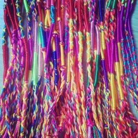 "Festival armbandje ""Weaved Cord"""