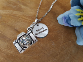 "Camera Ketting ""Sweet Memories"""
