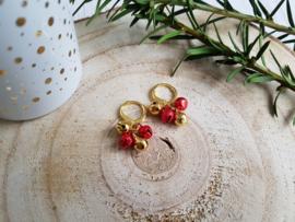 """Kerst Oorbellen """"Jingle Bells"""""""