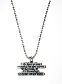 """Tekst Ketting """"What Life`s About"""""""