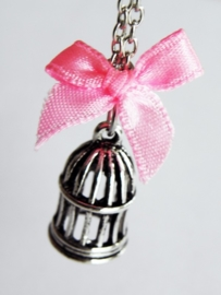 """Ketting """"Small Birdcage"""""""