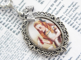 "Alice in Wonderland ketting ""Drink Me"""