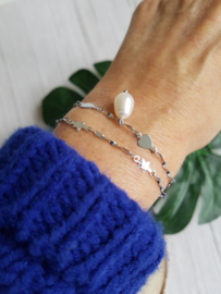 """Ster Armband """"Be Your Own Star"""" Stainless Steel"""