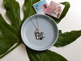 "Vriendschaps Ketting ""I Love You Sign"""