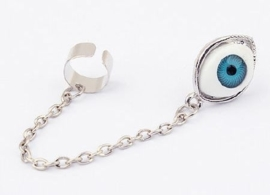 "Ear Cuff  ""Eye Love You"""