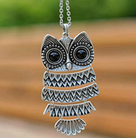 "Uil Ketting ""Medium Owl"""