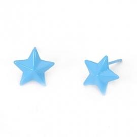 """Oorbellen """"Starstruck"""" Blauw"""