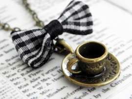 "Ketting ""Tea Time"" Bronskleur"