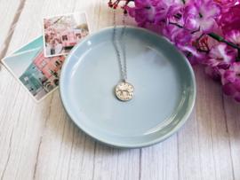 """Luipaard Ketting """"Plain Leopard Coin"""""""