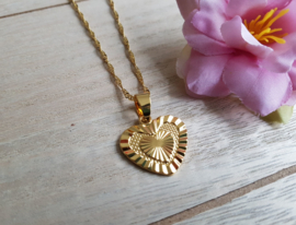 "Hart Ketting ""Heart Of Gold"""