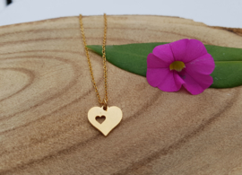 "Ketting met Hartje ""I Give You My Heart"""