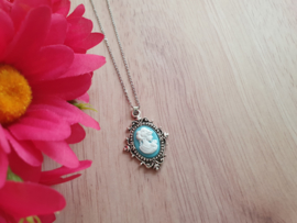 """Camee Ketting """"Turquoise Lady"""""""