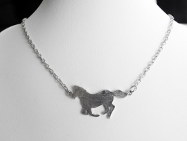 "Ketting ""Silver Horse"""