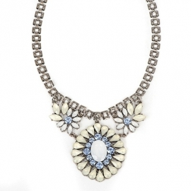 "Statement Ketting ""Lucite Stones"""