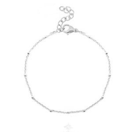 "Minimalistisch Armbandje ""Chains & Dots"" Goud of Zilver Stainless Steel"