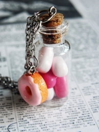 "Bottle Ketting ""I Want Candy"""