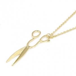 """Ketting """"Golden Scissors"""""""