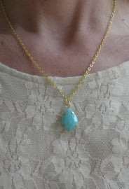 "Ketting ""Turquoise Drop"""