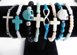 Infinity Armband - Turquoise