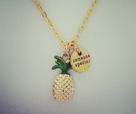 "Ananas Ketting ""Pineapple"""