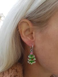 """Kerst Oorbellen """"Christmas Tree"""""""