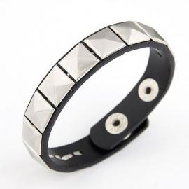 """Armband """"Black Studded Strap"""""""