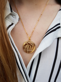 """Ketting """"Palm Tree Coin"""""""