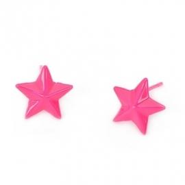 """Oorbellen """"Starstruck"""" Roze"""
