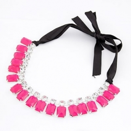 """Statement Ketting """"Candy Pink"""""""