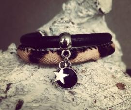 "Armband ""Leopard Black"""