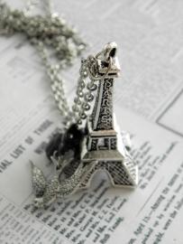 "Eiffeltoren Ketting ""Paris je t`aime"""