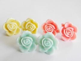 """Oorbellen """"Pastel Summer Flower"""""""