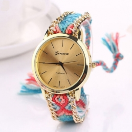 "Horloge ""Festival"" Turquoise"