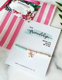 """Vriendschaps Armband """"Beach Beads"""""""