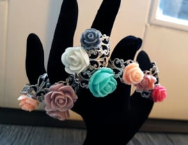 "Bloemen Ring ""Colourful Flowers"""
