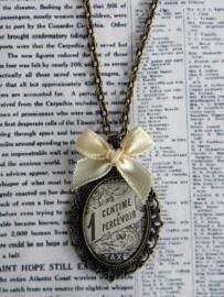"Ketting ""Vintage Oval Stamp"""