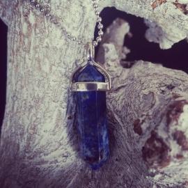 "Ketting Met Steen ""Lapis Lazuli"""
