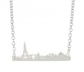 """Subtiele Ketting """"Paris Skyline"""""""