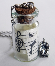 "Ketting ""Music In A Bottle"""